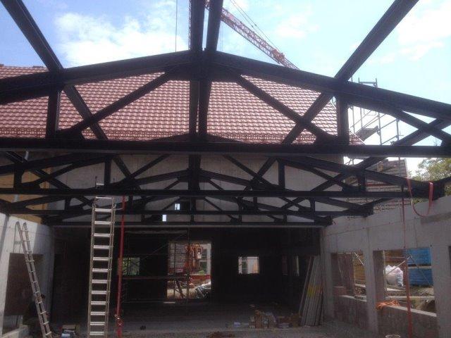 Neubau einer Brennerei in Lossburg als Stahlkonstruktion