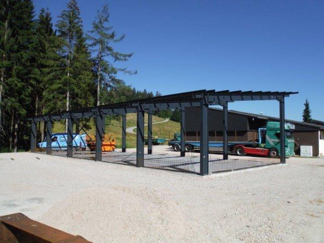 Neubau einer Gerätehalle Skilift Ruhestein