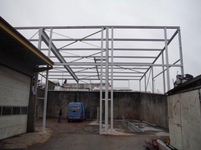 Neubau einer KFZ-Werkstatt in Freudenstadt