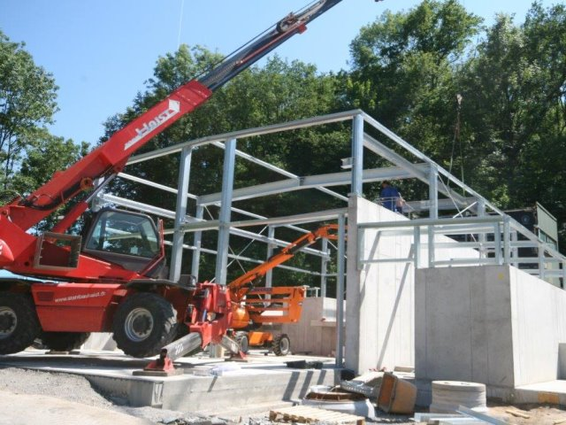 Neubau einer Kläranlage in Leutersbach