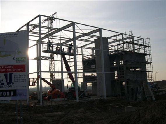Neubau Kletterhalle Deutscher Alpenverein Baden-Baden