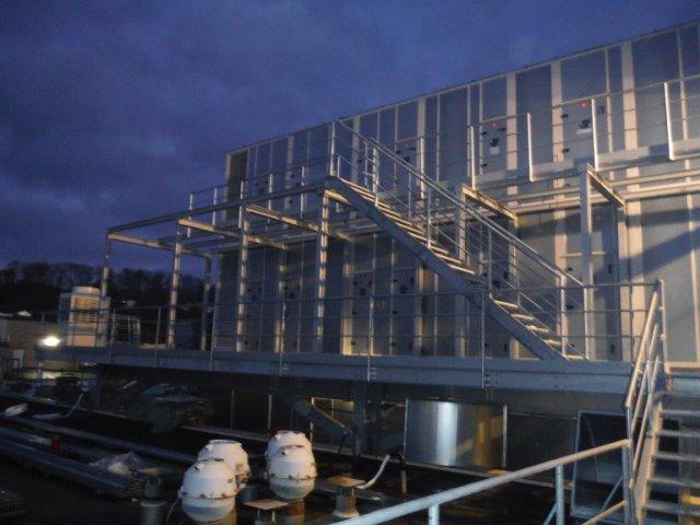 Neubau einer Lüfterkonstruktion in Gaggenau