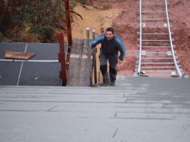 Neubau einer Sprungschanzen-Skispur an der Ruhesteinschanze K45
