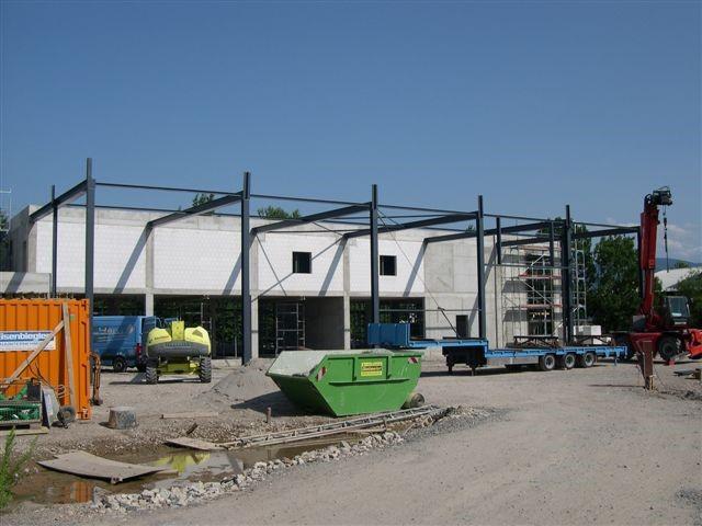 Stahlbau in Bühl Rötgen - Bänder