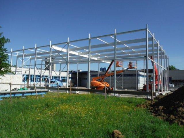 Neubau einer Produktionshalle Tübinger Stahlfeinguss