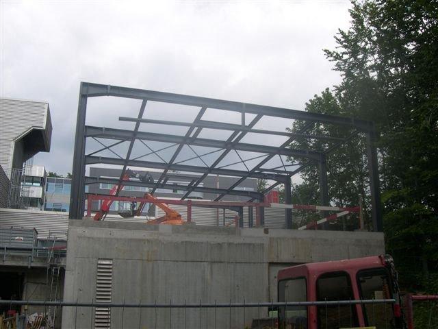 Stahlbau bei der Uni Stuttgart