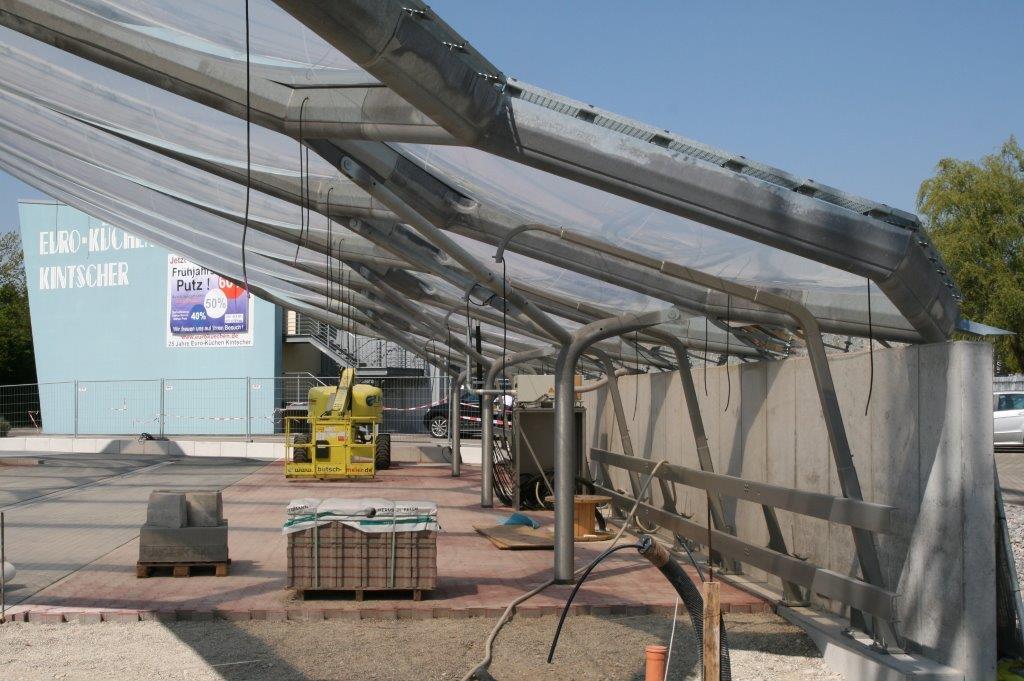 Neubau einer Auto-Staubsauger-Station in Kehl