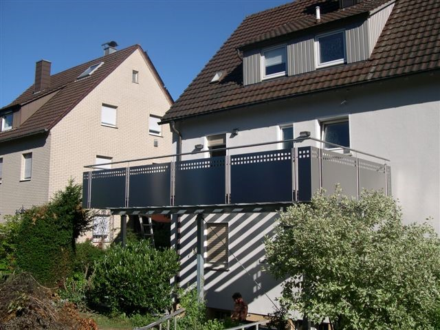 Anbau eines Balkon in Ludwigsburg