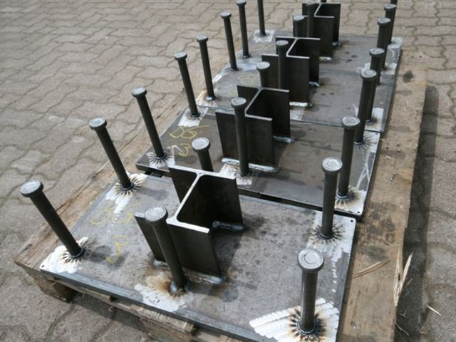 Ankerplatten / Beton-Einbauplatten