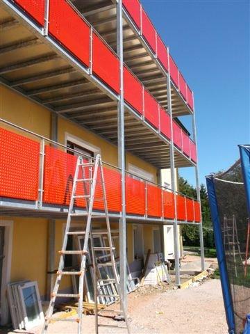 BV Fahrner Laufenburg Balkonanbau