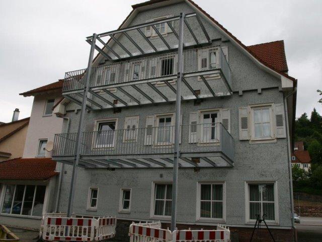Nachträglicher Balkonanbau in Altensteig