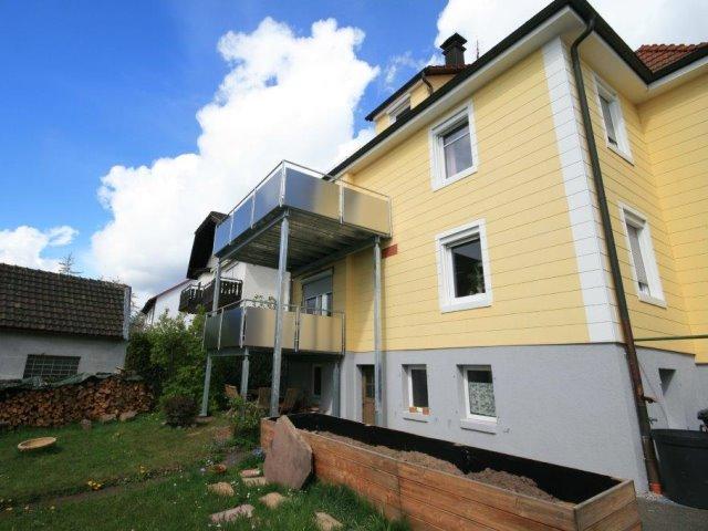 Anbau eines Balkon in Freudenstadt