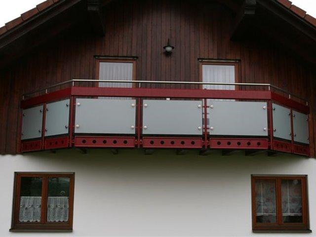 Balkongeländer in Römlingsdorf