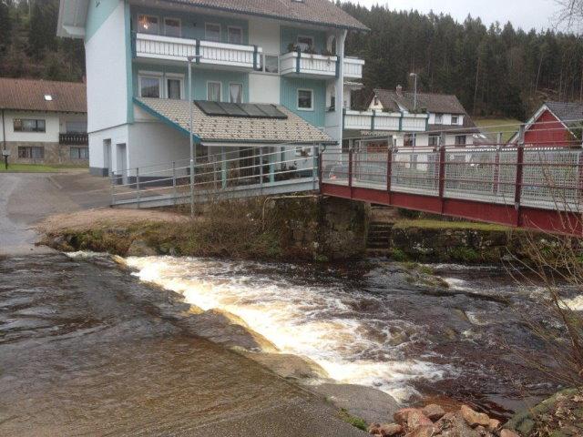 Herstellen einer Behindertengerechten Brückenrampe in Obertal