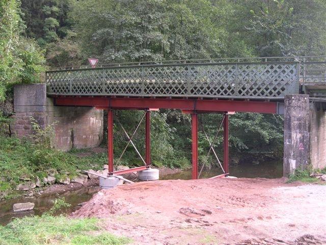 Brückenverstärkung Calw Kohlerstal