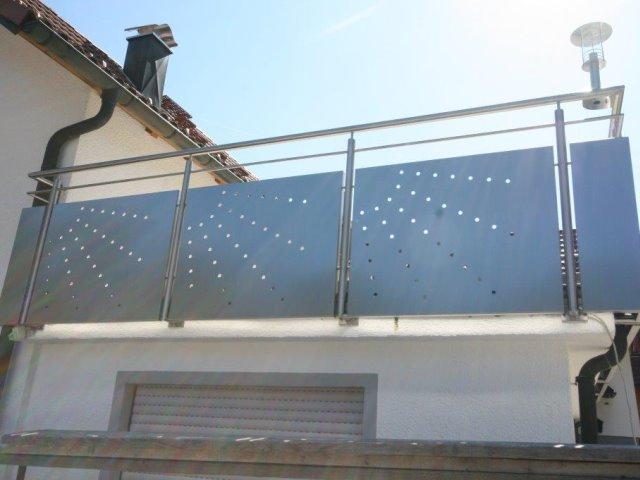 Geländererneuerung aus Edelstahl BV Fahner in Baiersbronn
