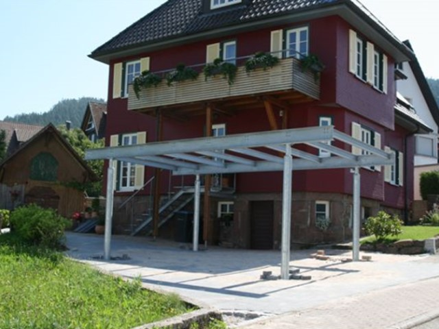 Carport Neubau in Baiersbronn