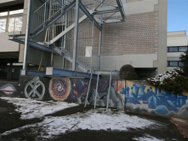 Fluchtreppen BV Bildungszentrum Bretzfeld