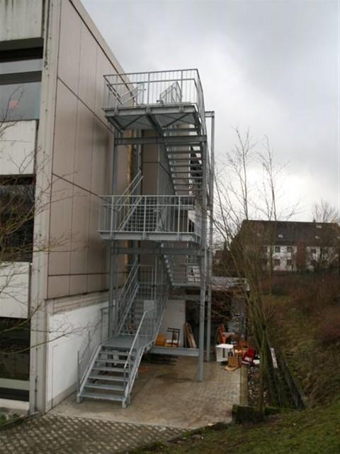 Rettungstreppe BV Schule Wiernsheim