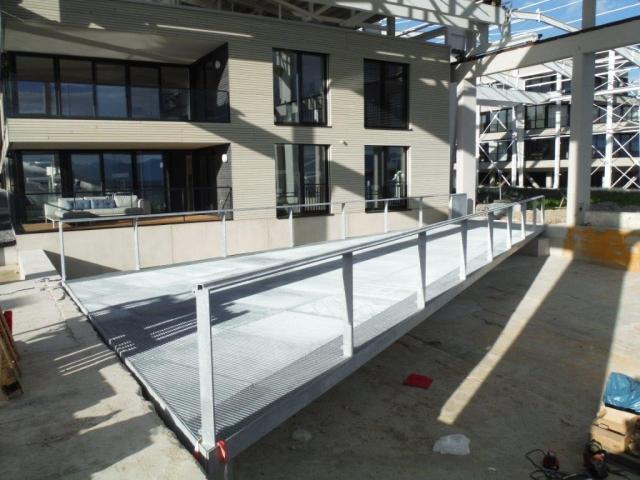 Neubau einer Rad- und Fußgängerbrücke in Kressbronn am Bodensee