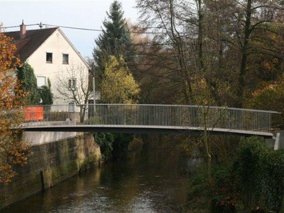 Innenstadtkern-Sanierung Nürtingen, Fußgängerbrücke