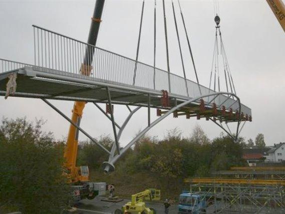 Haldenhof-Brücke, Schramberg-Sulgen, Spannweite 40 m
