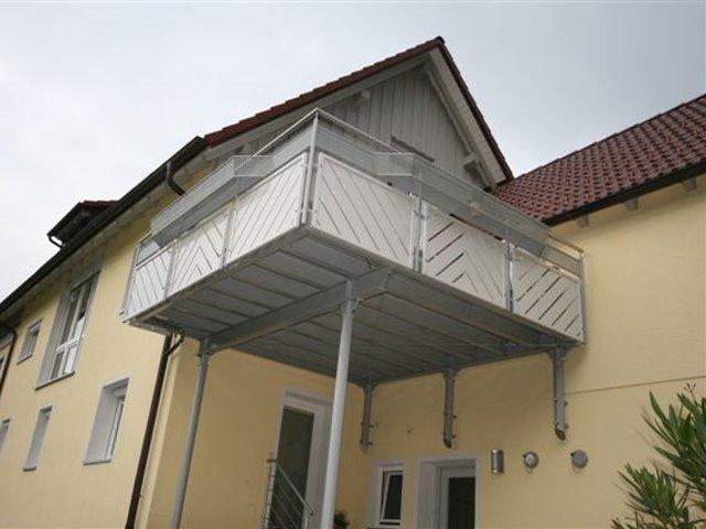Anbau eines kompletten Balkons bei Familie Günther in Mitteltal