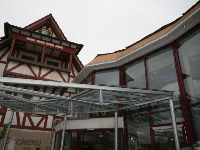 Neubau Eingangsvordach Hotel Lamm Zavelstein