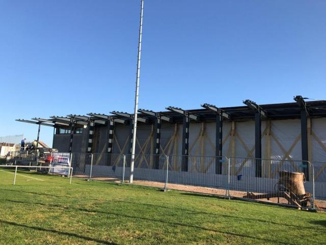 Erweiterung der Mehrzweckhalle der Gemeinde Hardt