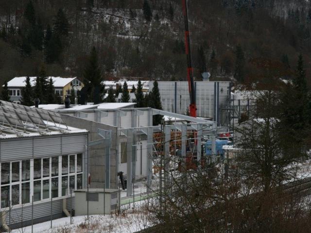 Anbau eine Produktionshalle in Oberdorf