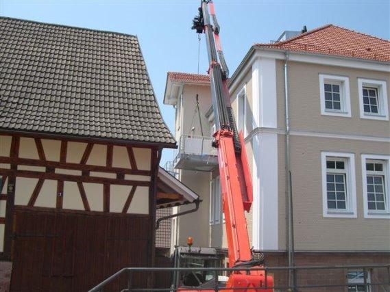 Anbau Balkone Rathaus Loffenau