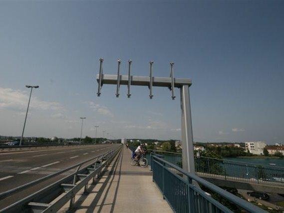 Schilderbrücke in Konstanz