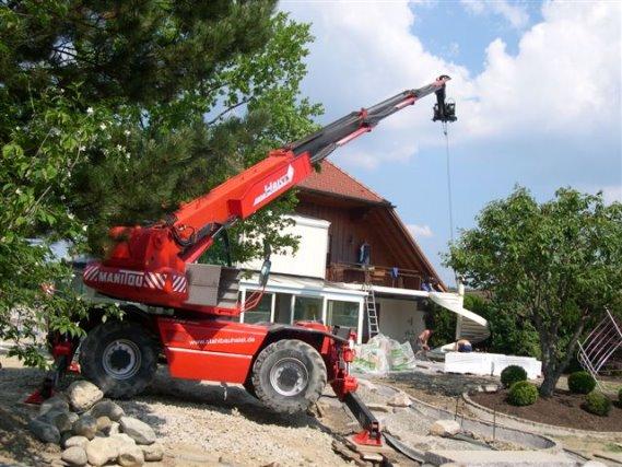 Montage einer Spindeltreppe in Dietersweiler