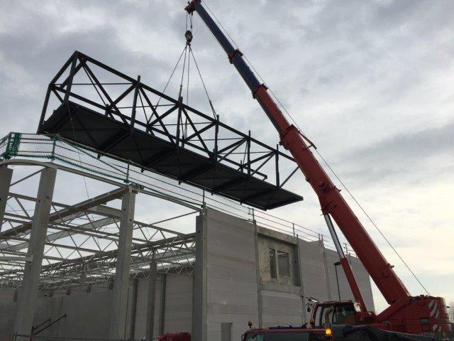 Anfertigen einer Transport- und Förderbrücke Firma Oest in Freudenstadt