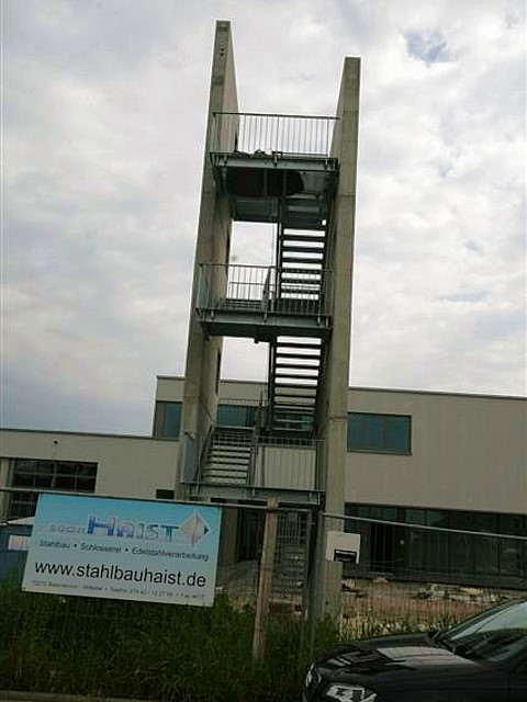 Feuerwehr Übungsturm der FFW Gemmrigheim