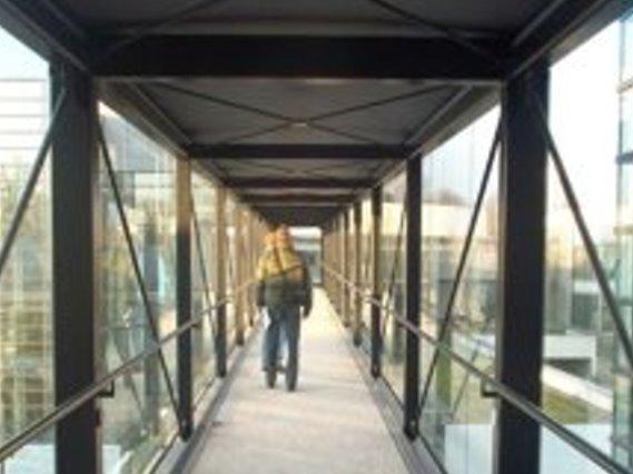 Verbindungsbrücke Uni Hohenheim