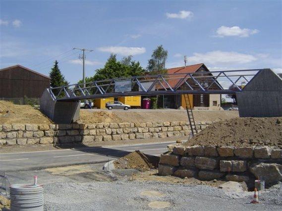 Rad- und Fußgängerbrücke Wiernsheim
