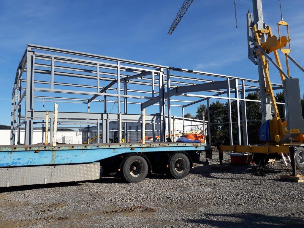 Neubau einer KFZ Halle in Epfendorf-Trichtingen
