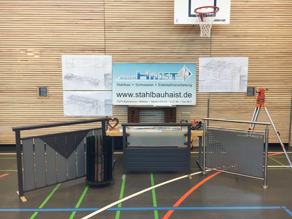 Die Egon Haist GmbH auf der Berufsschulbörse der Realschule Baiersbronn