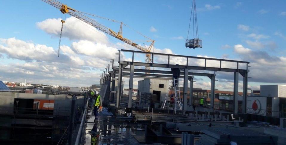 Lüfterzentrale aus Stahl in Weilimdorf hergestellt und montiert